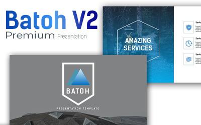 Batoh V2 Premium PowerPoint template