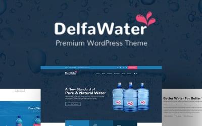 Delfa - Water Delivery WordPress Theme