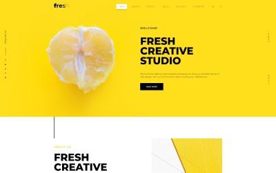Fresh Creative Portfolio Joomla Template