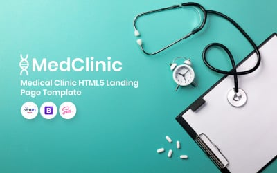 MedClinic - Medical Clinic Landing Page Template