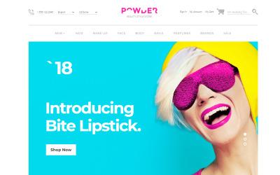 Powder - Beauty Store OpenCart Template