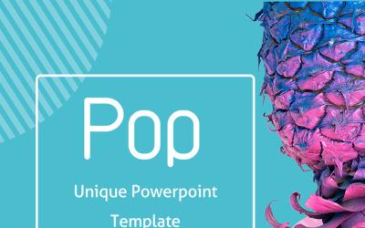 Pop modèle PowerPoint