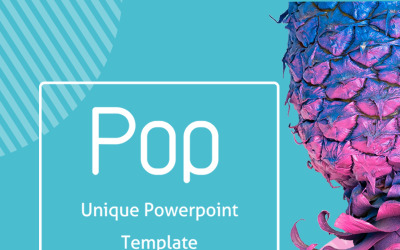 Pop PowerPoint şablonu