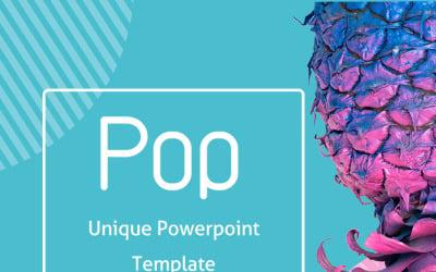 Pop PowerPoint-sjabloon