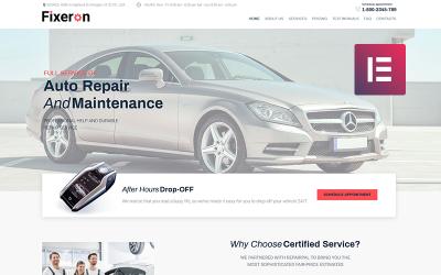 Fixeron - Thème WordPress Elementor de réparation de voiture