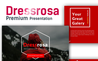 Dressrosa Premium PowerPoint-sjabloon