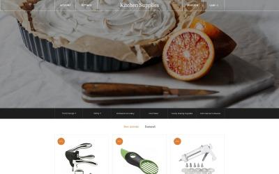 Kitchen Supplies - Elegant Kitchen Accessories Online Store OpenCart Template