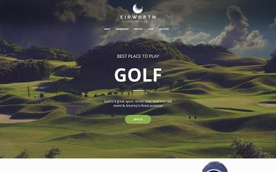 Eirworth - Plantilla HTML Golfing Club Moto CMS