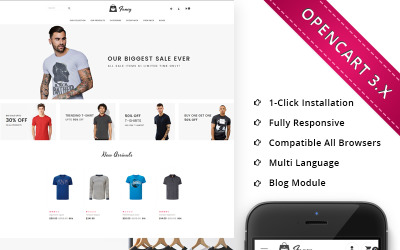 Fancy Fasion Store Responsive OpenCart Template