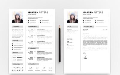 10 IN 1 Professinol Creative Resume Bundle