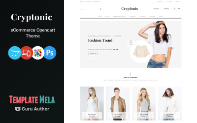 Cryptonic - Fashion Accessories Shop OpenCart Template