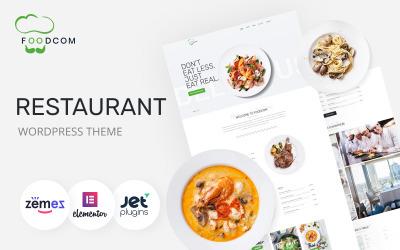 Foodcom - Thème WordPress Elementor pour restaurant