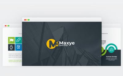Maxye - Multipurpose - Keynote template