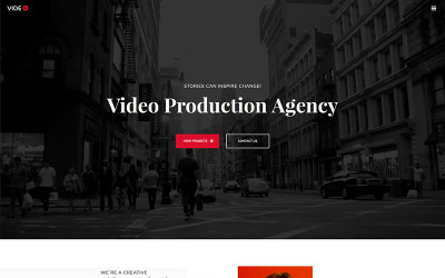 Videographer Photo Gallery Template
