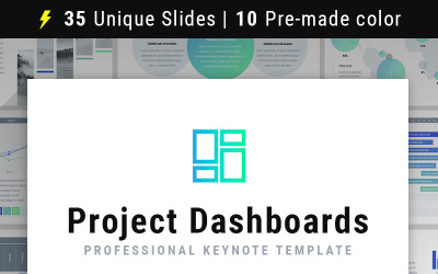 Project Dashboards - Keynote template