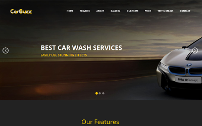 CarBuzz || Auto Mechanic & Car Repair HTML Template Landing Page Template