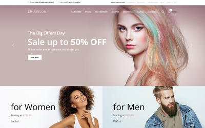 Hairisom OpenCart Template