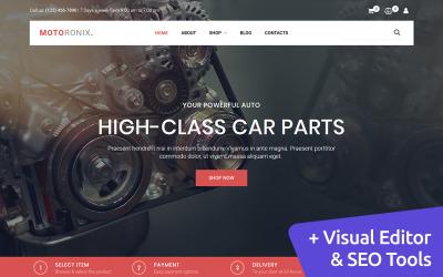Motoronix - Car Parts MotoCMS Ecommerce Template