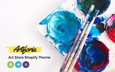 Artiforia - Tema Shopify para tienda de arte