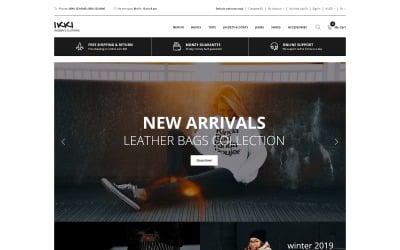 Ikki - Women's Clothing Store OpenCart Template