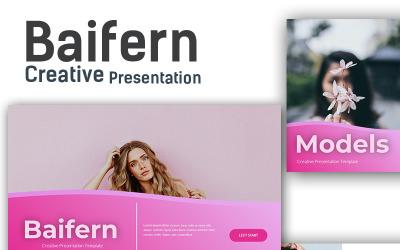 Baifern Creative - Keynote template