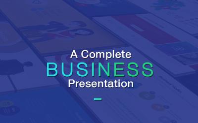 Business Plan & Marketing Presentation - Keynote template