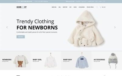 KidBoost - Kids Fashion Store OpenCart Template