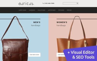 Auricus - Handbag MotoCMS Ecommerce Template