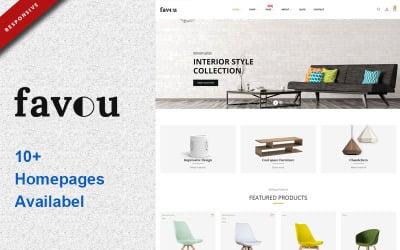 Favou - Furniture PrestaShop Theme