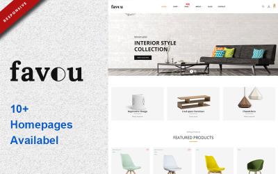 Favou - Тема PrestaShop Мебель