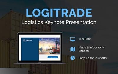 LogiTrade Logistics Presentation - Keynote template