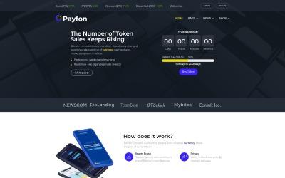 Payfone - ICO WordPress Elementor-tema