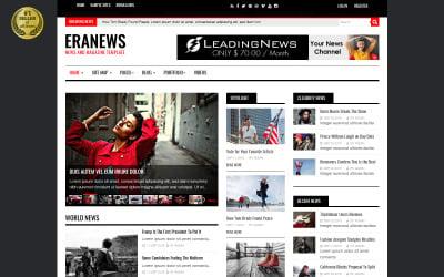 Eranews News and Magazine Joomla Template
