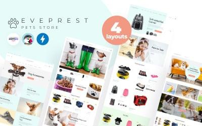 Eveprest Pets 1.7 - Tema de PrestaShop para Tienda de Mascotas