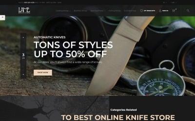 LAME - Tema de PrestaShop de Knife Store