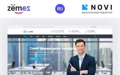 FinPRO - Financial HTML Template Ru Website Template