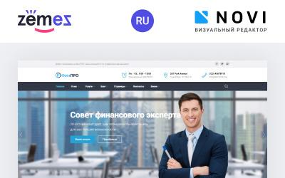FinPRO - Финансовый HTML-шаблон Ru-шаблон сайта