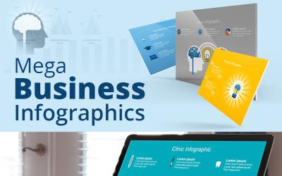 Mega Business Infographic - Keynote template