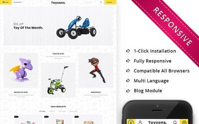 Toysons - Children Shop Responsive OpenCart Template
