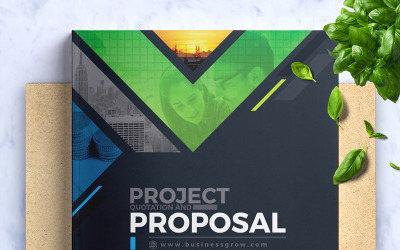 Project Proposal - Corporate Identity Template