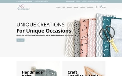 CraftHoop - Hand-Mad OpenCart Template