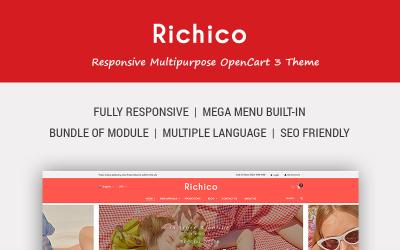 Richico - The Clean, Minimal & Multipurpose OpenCart Template