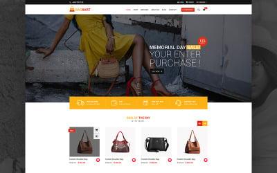 BagKart - e-kereskedelmi PSD sablon