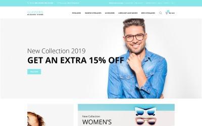 Glasseris - Glasses Store OpenCart Template