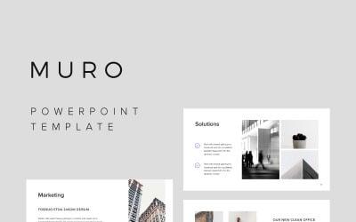 MURO - шаблон PowerPoint