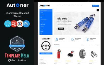 Autoner - Auto Spare Parts Store OpenCart Template