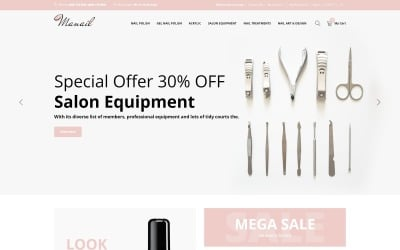 Manail - Fashion & Beauty Ready-to-use OpenCart Template