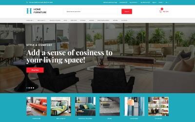 Home Furniture - Interior and Furniture Minimalistic OpenCart Template