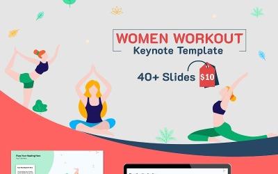 Women Workout - Modello di Keynote
