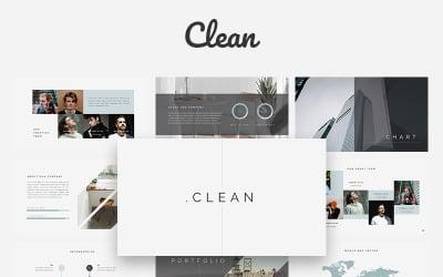 Clean Creative - Keynote template